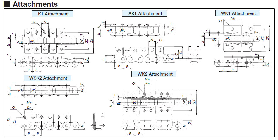 Tsubaki Power Transmission Products Technical Information